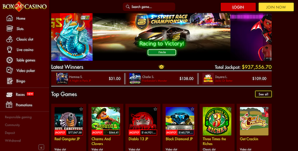 Box 24 Casino Promotions Christmas Bonuses Welcome Package More