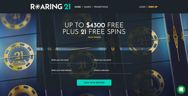 Roaring 21 Casino Review