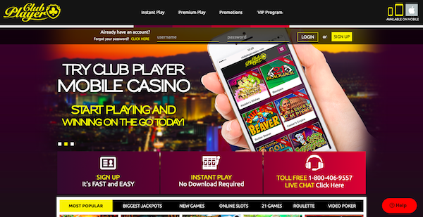 Telecharger Club Player Casino